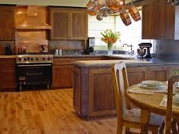 amazing golden oak color natural style vinyl kitchen floor