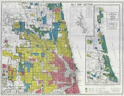 Chicago Race Map by Redlining Still A Thing The Washington Post