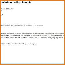 cancellation of resignation letter web maintenance contract how to