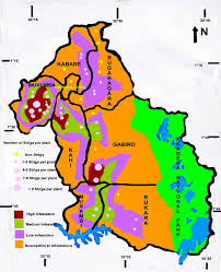 Map Of Rwanda Striga Hermontica Threatens Maize And Sorghum Cropping In Umutara