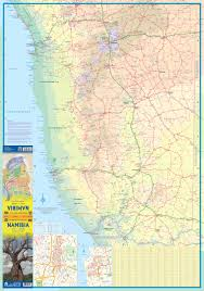 Namibia Map Maps For Travel City Maps Road Maps Guides Globes Topographic