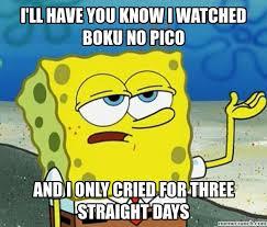 Boku No Pico Meme - no pico