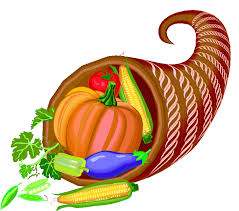 thanksgiving food baskets clipart 44