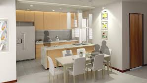 Kitchen Partition Wall Designs by 6 In 10 Bto Flat Buyers Opt For Open Kitchens Housing News U0026 Top