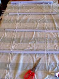 Make Roman Shades From Blinds How To Make Diy Roman Shades For Wide Windows Using Mini Blinds