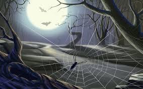 halloween spiders spider web wallpaper wallpapersafari