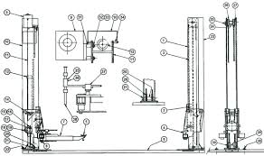 2 post car lift wiring diagram 2 post car lift cable 2 post car