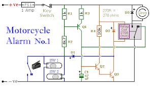 wiring diagram of motorcycle alarm wiring diagram byblank
