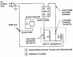 hair dryer circuit wiring diagram appliance gfi switch diagram