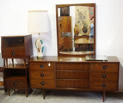 stanley bedroom furniture set mid century modern walnut stanley bedroom set i actually have this