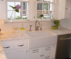 invigorating design for creamy shaker kitchen cabinets farmhouse