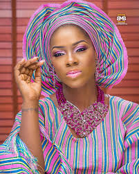 african make and asooke hair styles see trending bridal aso oke looks like you ve never seen before