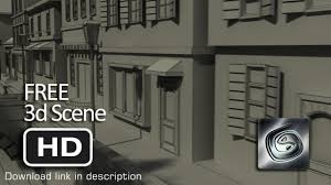 free 3d scenes classic european buildings 3d model youtube