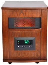 Wooden Material Element Amazon Com Lifesmart 6 Element Large Room Infrared Quartz Heater