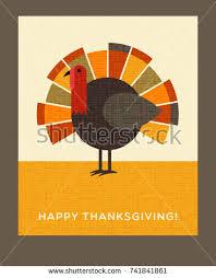 happy thanksgiving flat minimalist banner designs stock vector