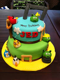 Popular 3d Cakes Angry Bird And Angelina Ballerina U2013 Universal