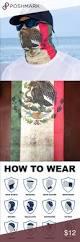 Flag You Down Salt Armour Mexico Flag Face Shield Balaclava Buff Flag Face