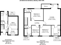 balmoral floor plan 3 bedroom coach house for sale in balmoral gardens bexley da5