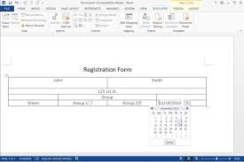 design form in word how to make a fillable form with microsoft word techwalla com
