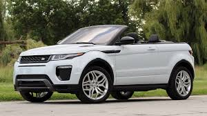 range rover convertible first drive 2017 land rover range rover evoque convertible