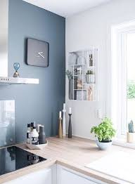 kitchen feature wall paint ideas kitchen blue feature wall kitchen design ideas