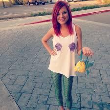 Ariel Mermaid Halloween Costume 27 Ways Dress Ariel Halloween Ariel Princess