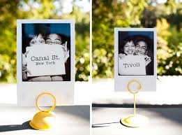 themed table numbers wedding tables what s in a name