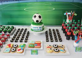 soccer party ideas kara s party ideas world cup soccer themed birthday party via