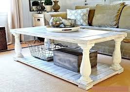 distressed white side table distressed white side table shelby knox