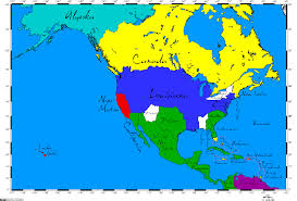 New Spain Map by Rememberences Of Map Contests Past Page 5 Alternate History