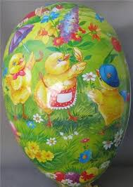 paper mache egg box 184 best antique easter papermache eggs images on