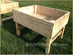 building raised garden beds on legs gardening archives wisconsin