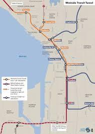 Map Ballard Seattle by Westside Seattle Transit Tunnel An Introduction