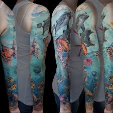 27 graceful full sleeve tattoo for 2013