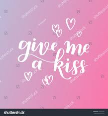 handwritten lettering quote about love valentines stock vector