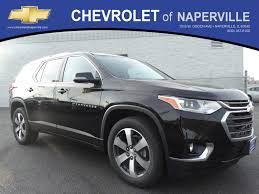 new 2018 chevrolet traverse lt leather sport utility in naperville