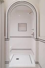 White Bathroom Tile Designs White Shower Tile Sliced White Pebble Tile Best 25 White Subway