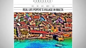 popeye village popeye village in malta offers fans an unbeatable experience