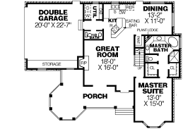 style house floor plans style house plans plan 27 177