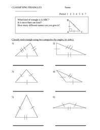 classify triangles worksheet by stone teachers pay teachers