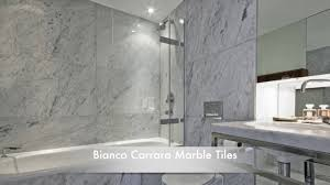 Bathroom Tile Simple Carrara Marble Tile Bathroom Ideas Decor Carrara Marble Bathroom Designs