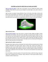 grown up light up shoes cool light up shoes for adults that are trendy and stylish by