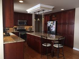 my new kitchen dynasty omega cabinet in brookshire cherry sable