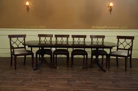 american made dining room furniture new american made antique style double pedestal dining table