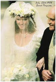 sarah ferguson wedding dress embroidery 2 our royal family