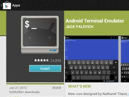 terminal emulator apk android terminal emulator command line app on android devices