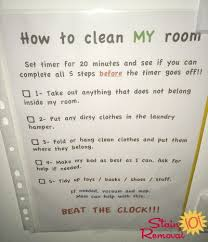 how to clean a room bedroom cleaning checklist help expectations for this chore