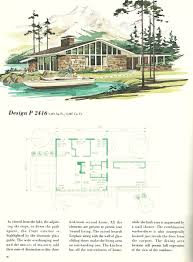 vintage vacation home plans 2416 antique alter ego vintage house plans vacation homes 1960s vacation homes