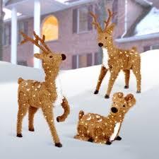 outdoor reindeer decorations you ll wayfair