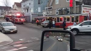 car crashes into sanford diner wgme